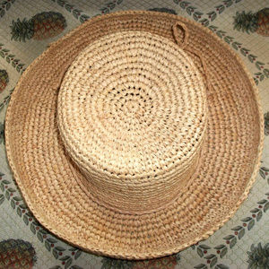 Tommy Bahama Natural Straw Sun Hat
